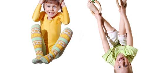 Gyerekek sportolnak nagyban