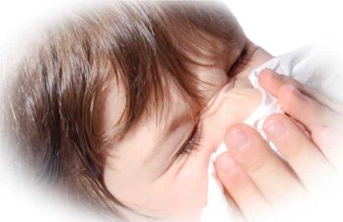 Allergia, orrfújás