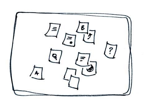 gedanken skizzieren © Viktoria Cvetković | bebildert.eu