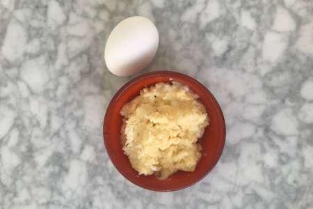 äggröra bebis barnmat