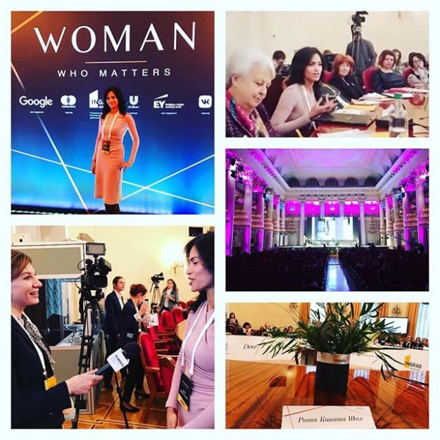 November 16, 2018: Moscow, Russia | Woman Who Matters Forum | Roundtable Discussion on Mothers who are Businesswomen