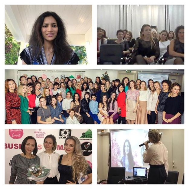 December 8, 2018: Sochi, Russia | Women's Entrepreneurship Forum | Livestream advice for senior Russian businesswomen