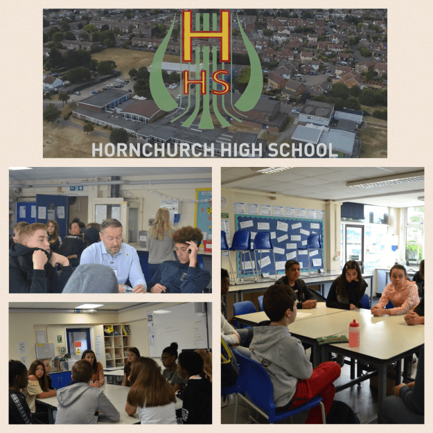 June 11, 2019: London, UK | Career Speed Dating, Advice to Year 7 and 8 Students | Hornchurch High School