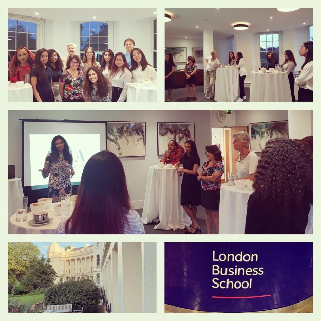 August 21, 2019: London Business School, London – Keynote on Successful Networking for Women at Work