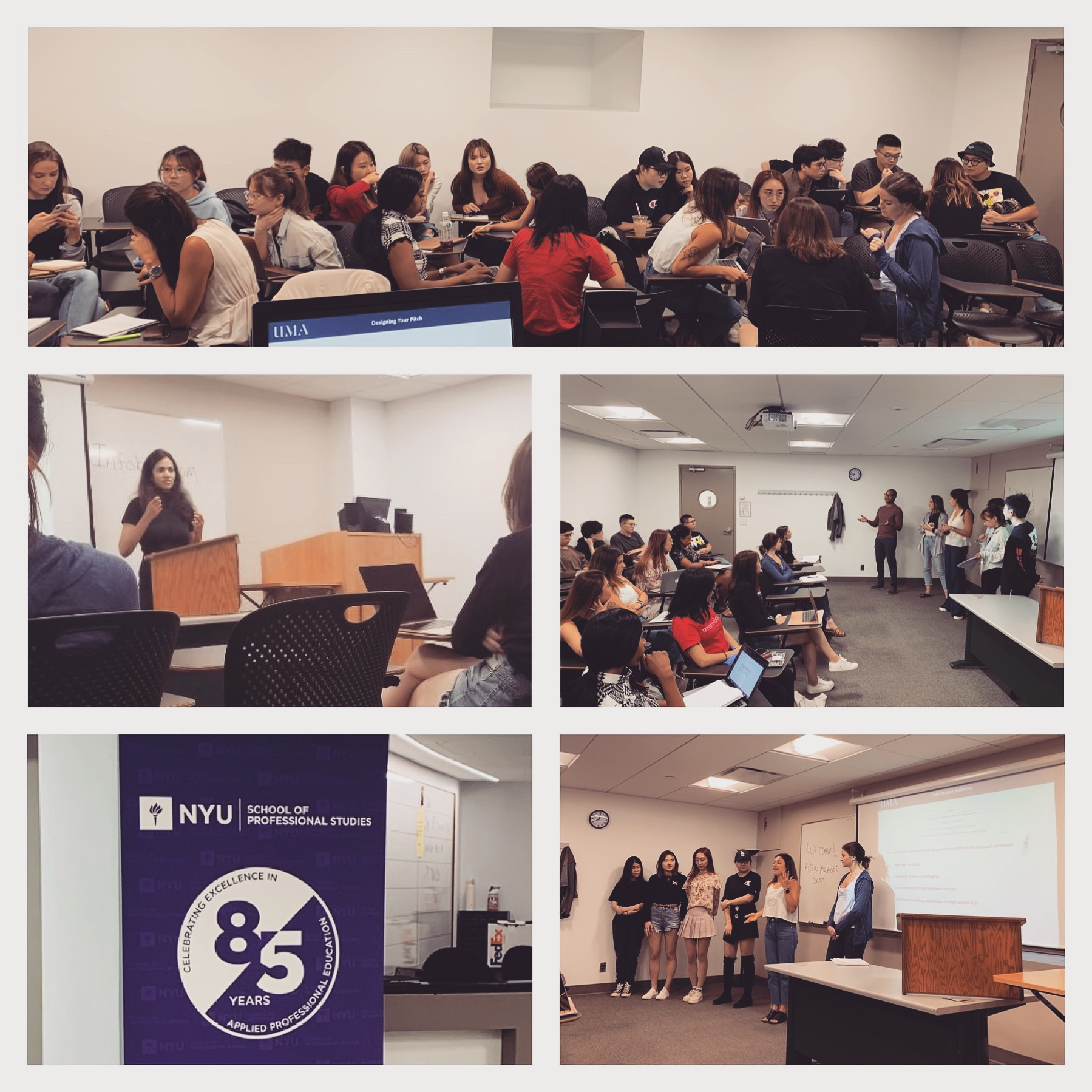 September 24, 2019: New York, USA | Guest Lecture to Postgraduate Students on Successful Communications: Preparation, Pitch and Presence | NYU Steinhardt