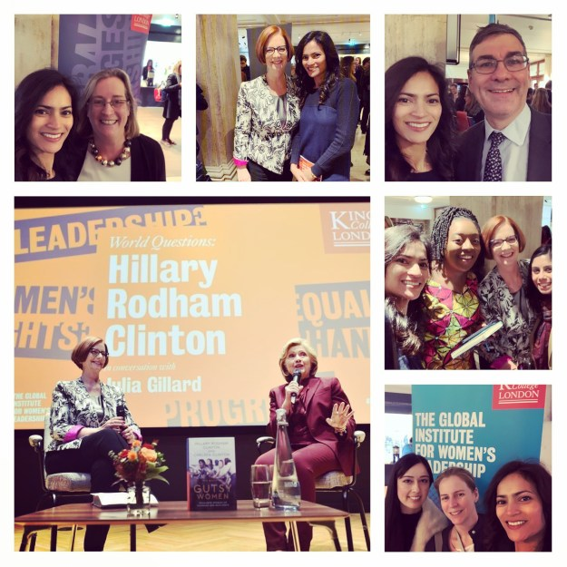 November 13, 2019: London, UK | Global Institute of Women's Leadership | Hillary Clinton and Julia Gillard