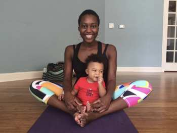 Inclusive yoga and doula work with Christy Stringer
