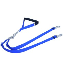 adjustable grippa double dog walker dog leash bebopusa pet leashes