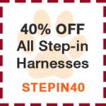 40% off step-in harness
