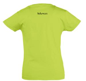 Modelo CHERRY 11981 – Camiseta niña cuello redondo