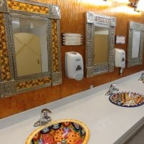 Mitchell KOA bathroom