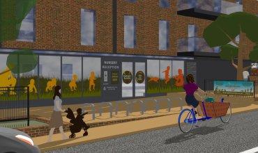 BeBright Nursery Sydenham reception cycle-friendly