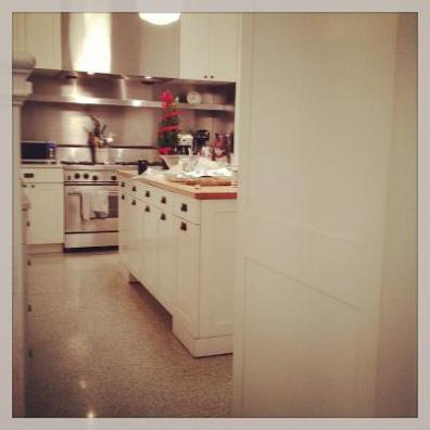 The kitchen - where all the joys of cooking happened