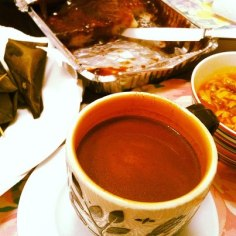 Breakfast, the only thing missing is Vigan sausages