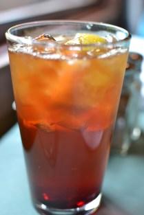 My huckleberry tea