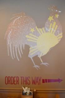 Love that chicken logo