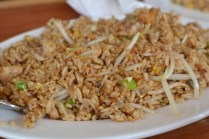 Dried fish fried rice