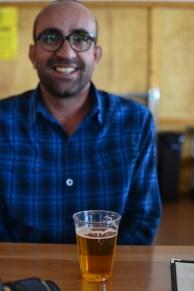 Sergio and his Lake brew