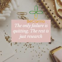 Quitting is failure