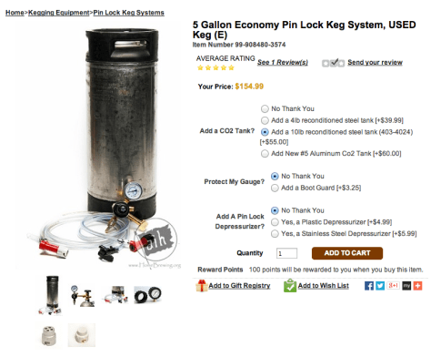 best beginner kegging kit.
