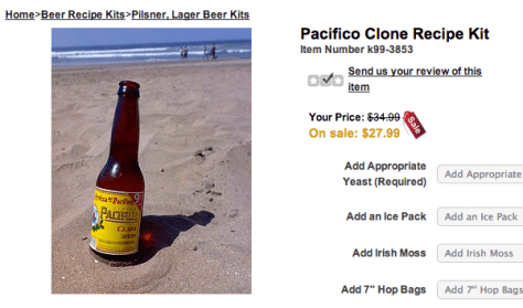 pacifico clone kit