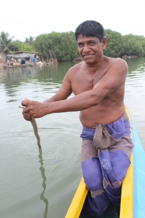 Lovely fisherman