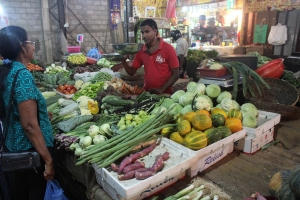Fruit and vege market