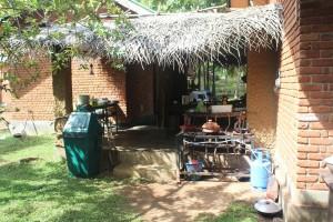 Jungle Beach Hostel Kitchen