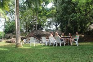 Jungle Beach Hostel breakfast