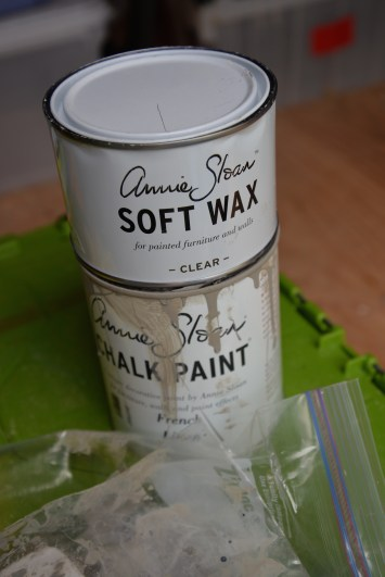 I cannot due without Annie Sloan paint & wax!!