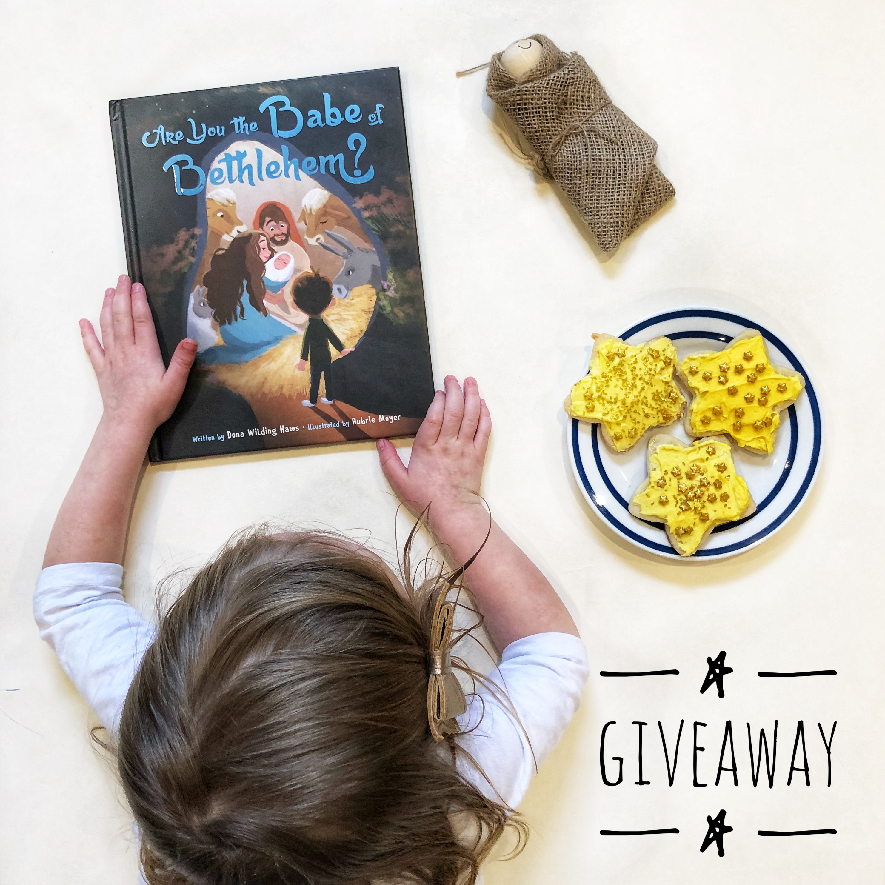 Review and Giveaway:  Are You the Babe of Bethlehem? by Dona Haws