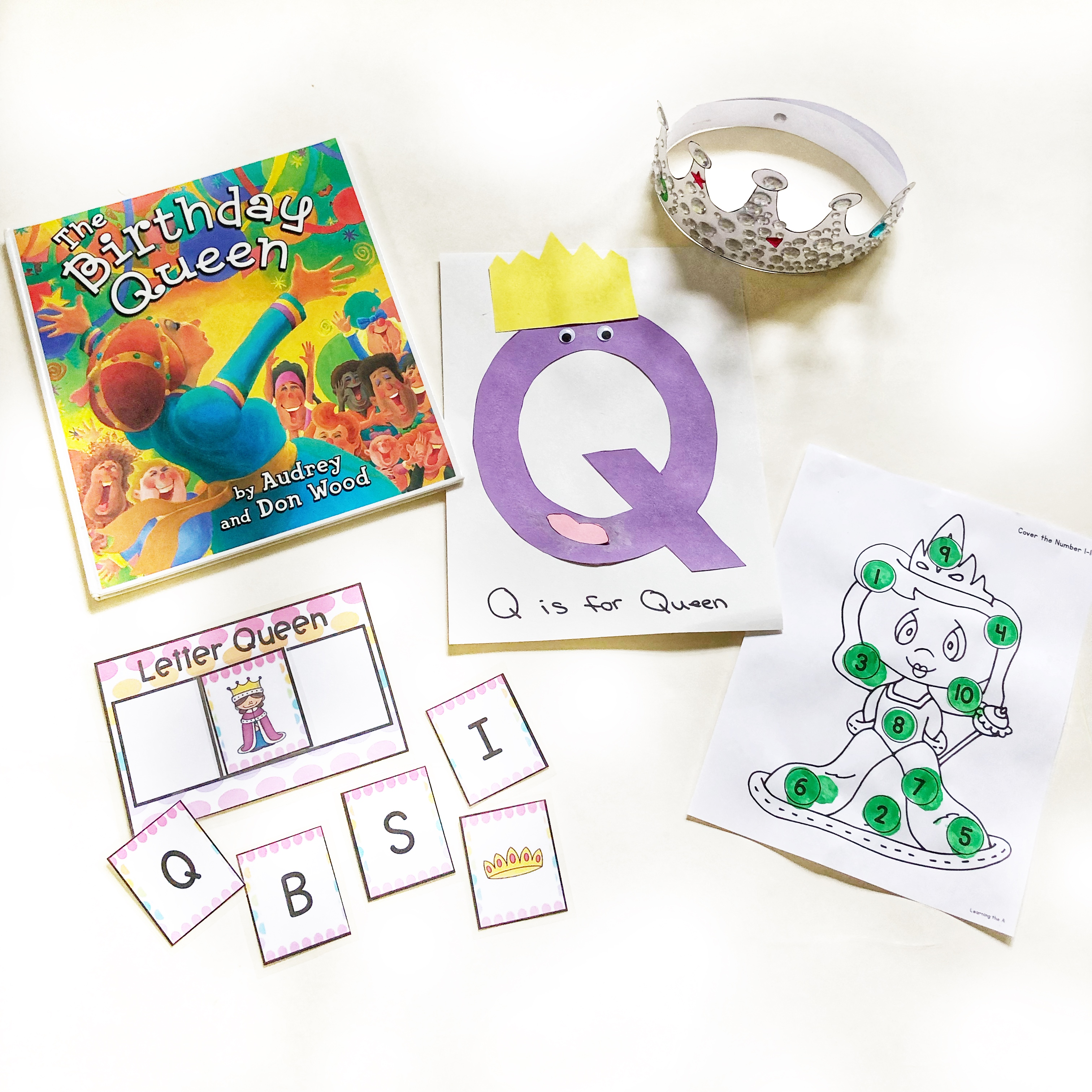 Q is for Queen Lesson