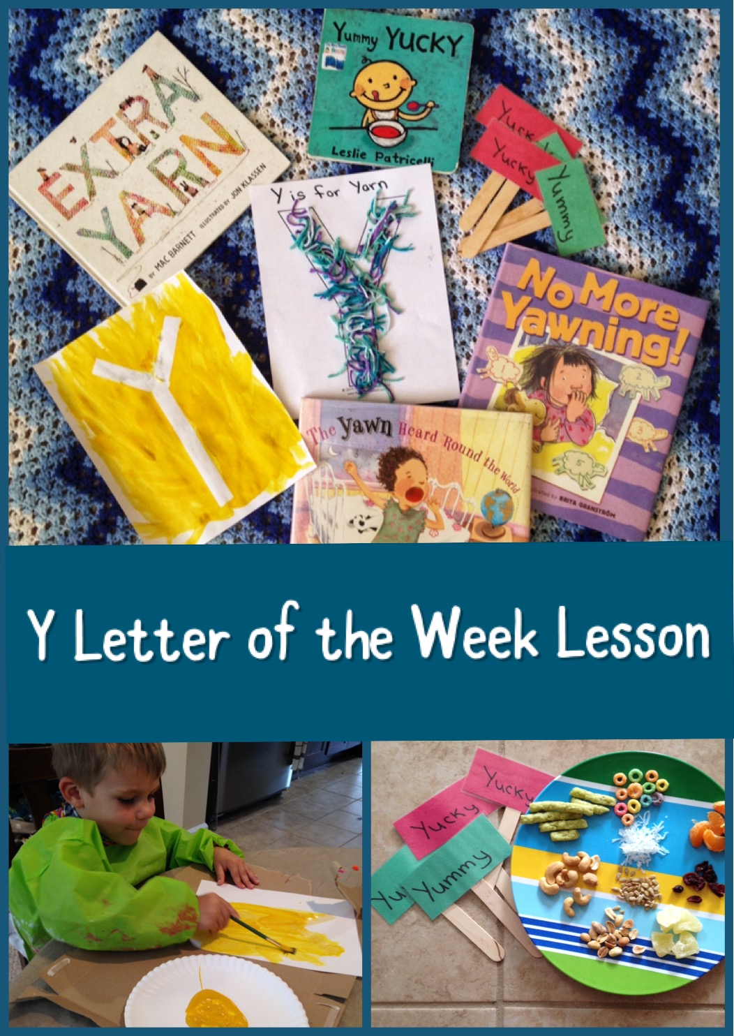 Letter of the Week Y Lesson
