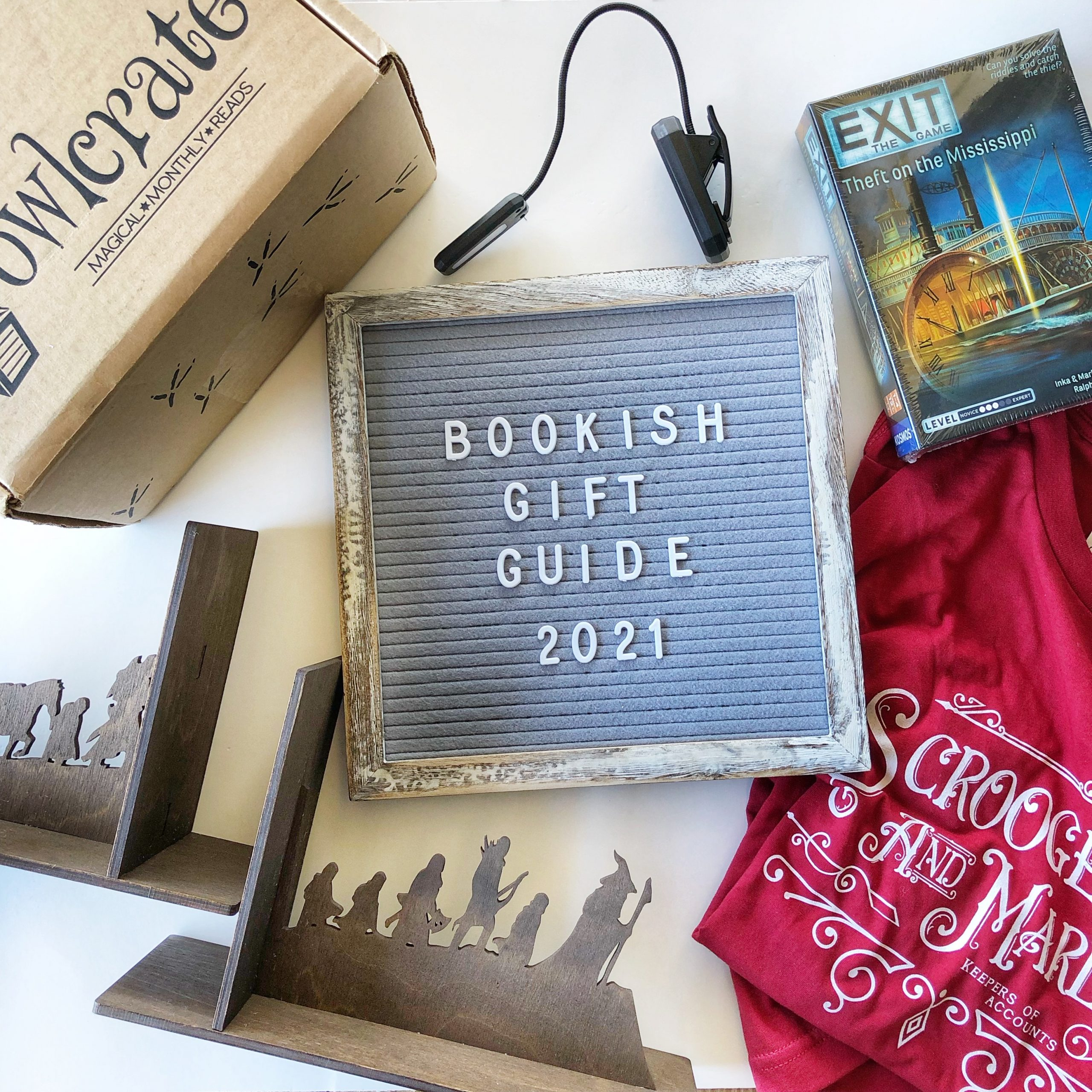 Bookish Gift Guide 2021