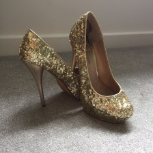 Cinderella Shoes - Gold