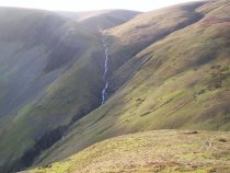Cautley Spout from Yarlside