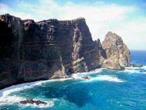 The cliffs of the Ponta São Lourenço, Madeira