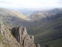 Styhead from Lingmell
