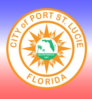 port-st-lucie-logo-red-white-and-blue