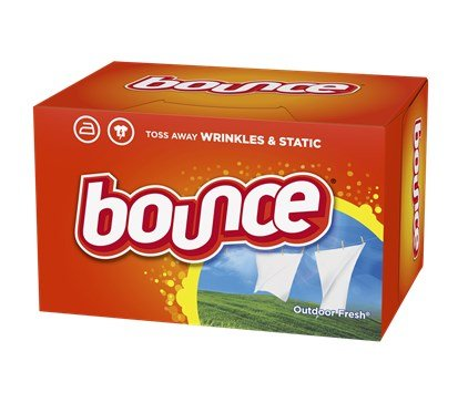 Bounce dryer sheets were my household's choice for dryer sheets for many years.