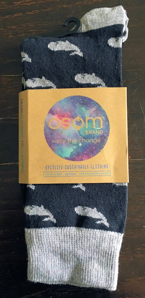 Images of Osom Cetus socks. Photo by me.