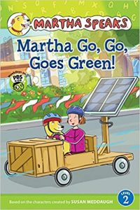 Martha Go, Go, Goes Green! book cover