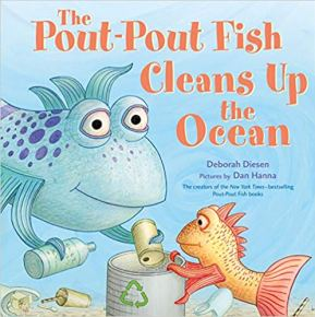 Cover of The Pout-Pout Fish Cleans Up the Ocean book