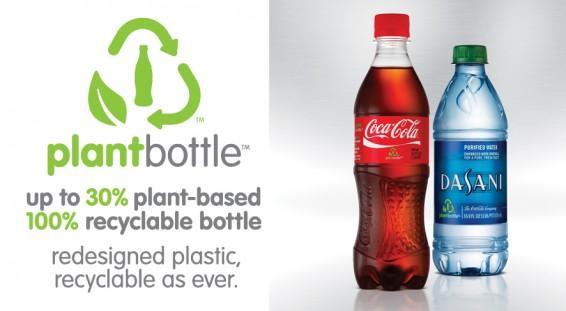 Coca-Cola plantbottle advertisement