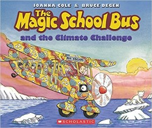 The Magic School Bus and the Climate Challenge book cover