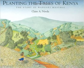 Planting the Trees of Kenya book cover