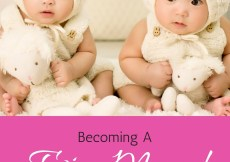 Becoming a Twin Mum! When 2 Became 4!