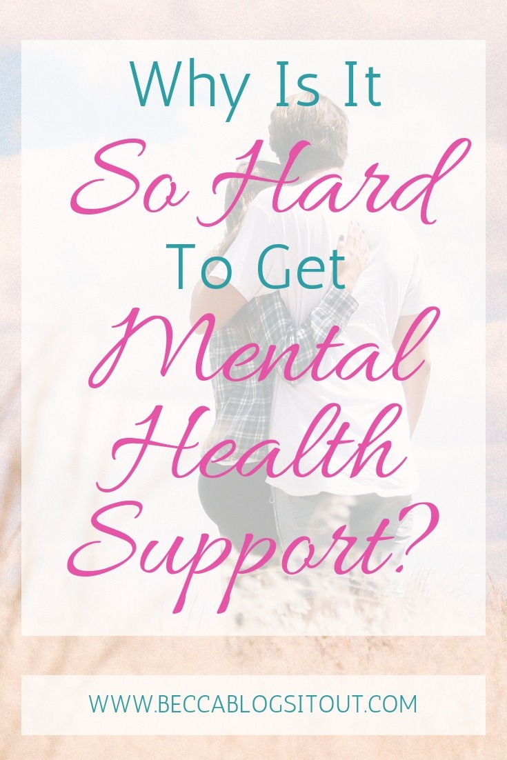 Why Is It So Hard To Get Mental Health Support?
