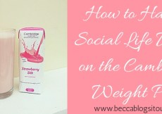 How to Have a Social Life While on the Cambridge Weight Plan