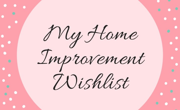 Mr Home Improvement Wishlist